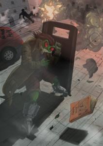 z-scudo antisommossa